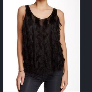 NWT French Connection Sz Sm - Eyelet Panel Tank